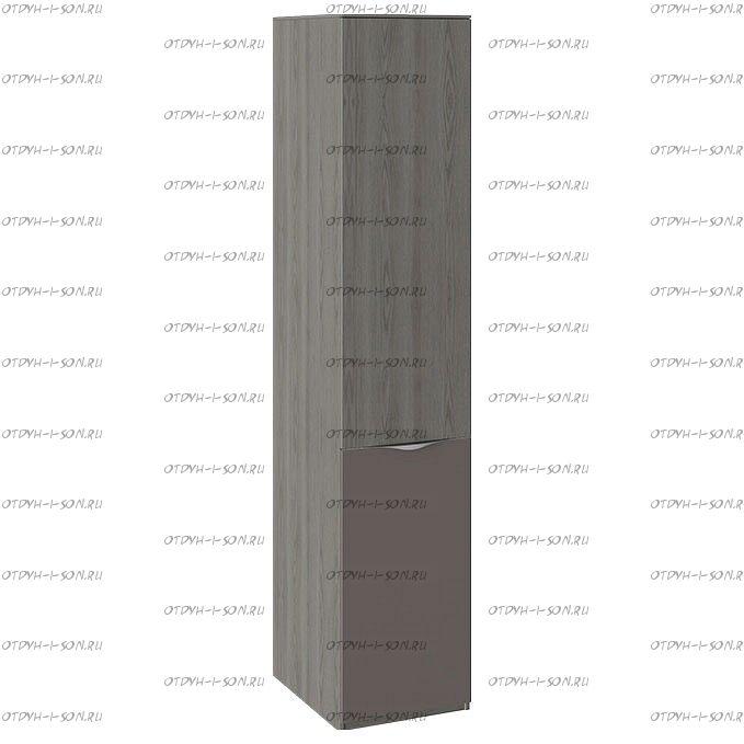 Шкаф для белья с 1 дверью Либерти СМ-297.07.013 ЛКП Хадсон/Фон Серый