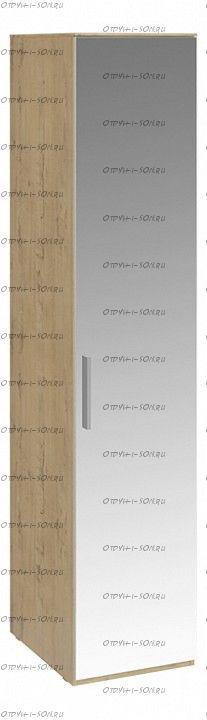 Шкаф для белья с 1 зеркальной дверью правый Николь СМ-295.07.002 R Бунратти