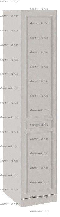 Шкаф для белья Сабрина СМ-307.07.010-01L с 1 глухой дверью левый с опорой Кашемир