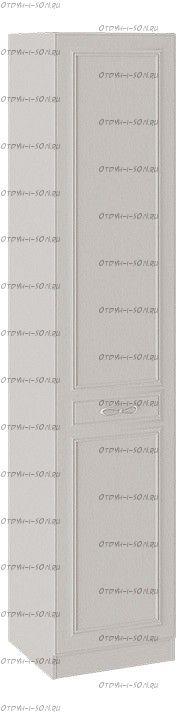 Шкаф для белья Сабрина СМ-307.07.010R с 1 глухой дверью правый Кашемир
