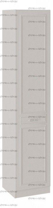 Шкаф для белья Сабрина СМ-307.07.210-01R с 1 глухой дверью правый с опорой Кашемир