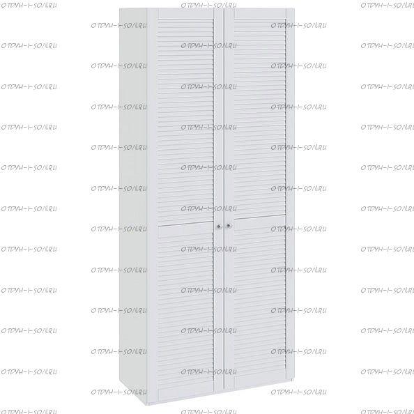 Шкаф для одежды Ривьера СМ 241.22.002 с 2-мя дверями Белый