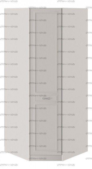 Шкаф угловой Сабрина СМ-307.07.030R с 1 глухой дверью правый Кашемир