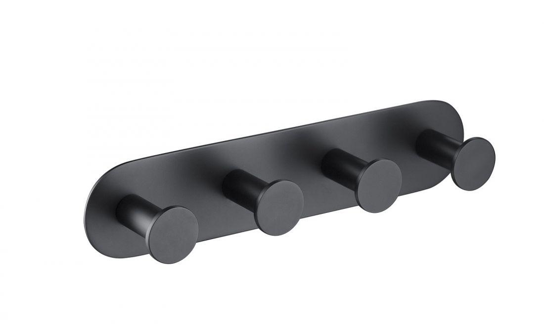 Вешалка-4 крючка Timo Saona (13015/03) черный