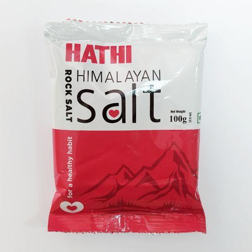 Соль розовая гималайская | 100 г | HATHI MASALA