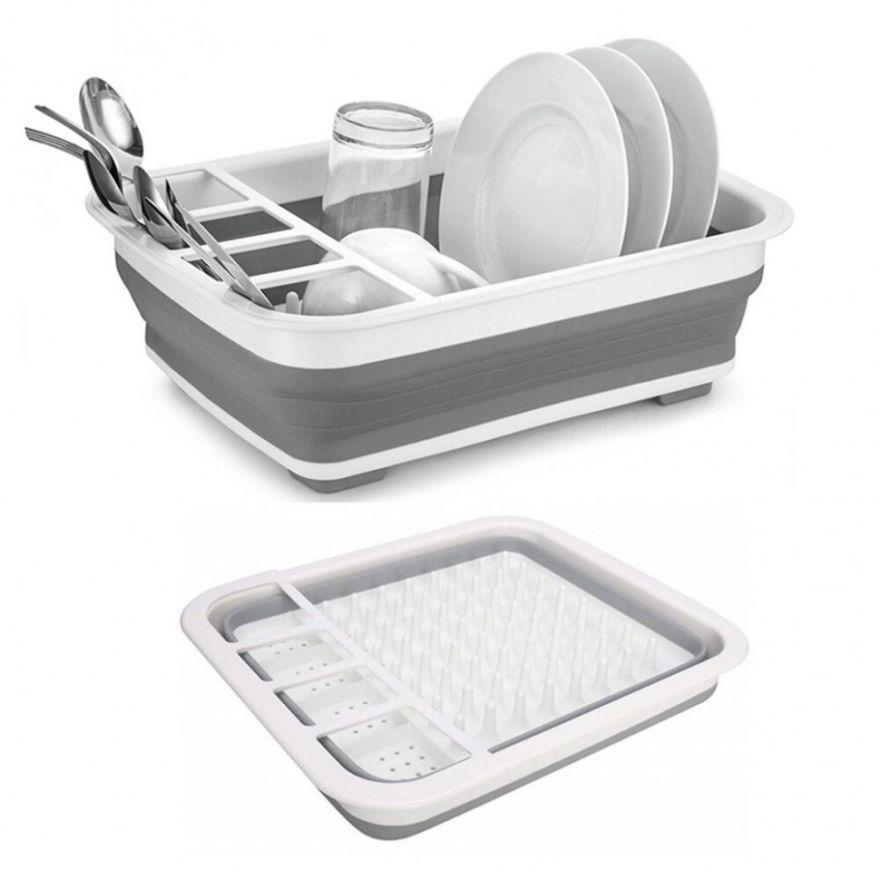 Складная сушилка для посуды (66300)