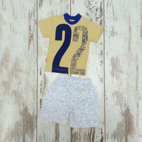 Костюм с номером 22: футболка, шорты