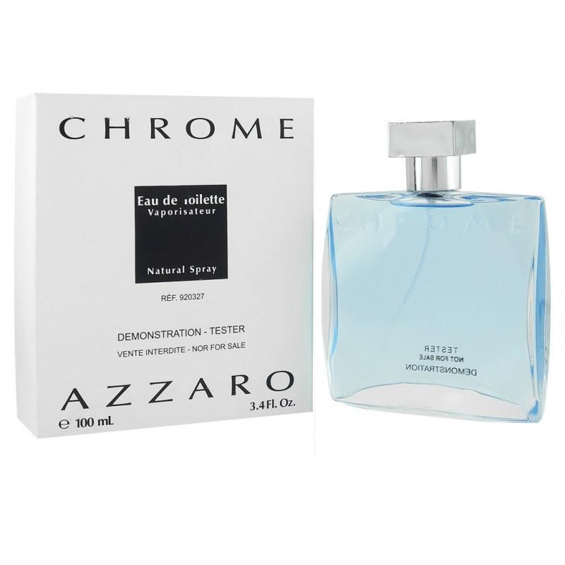 Тестер Azzaro Chrome 100 мл