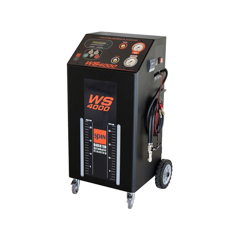 WS4000 - установка для промывки радиаторов и замены охлаждающей жидкости полуавтоматическая