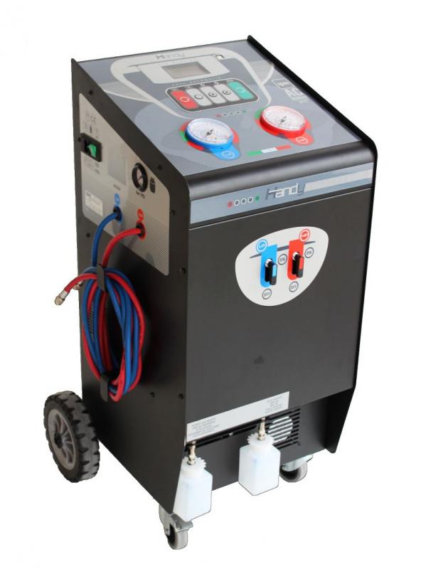 HANDY Установка для заправки кондиционеров, автомат, блокировка весов