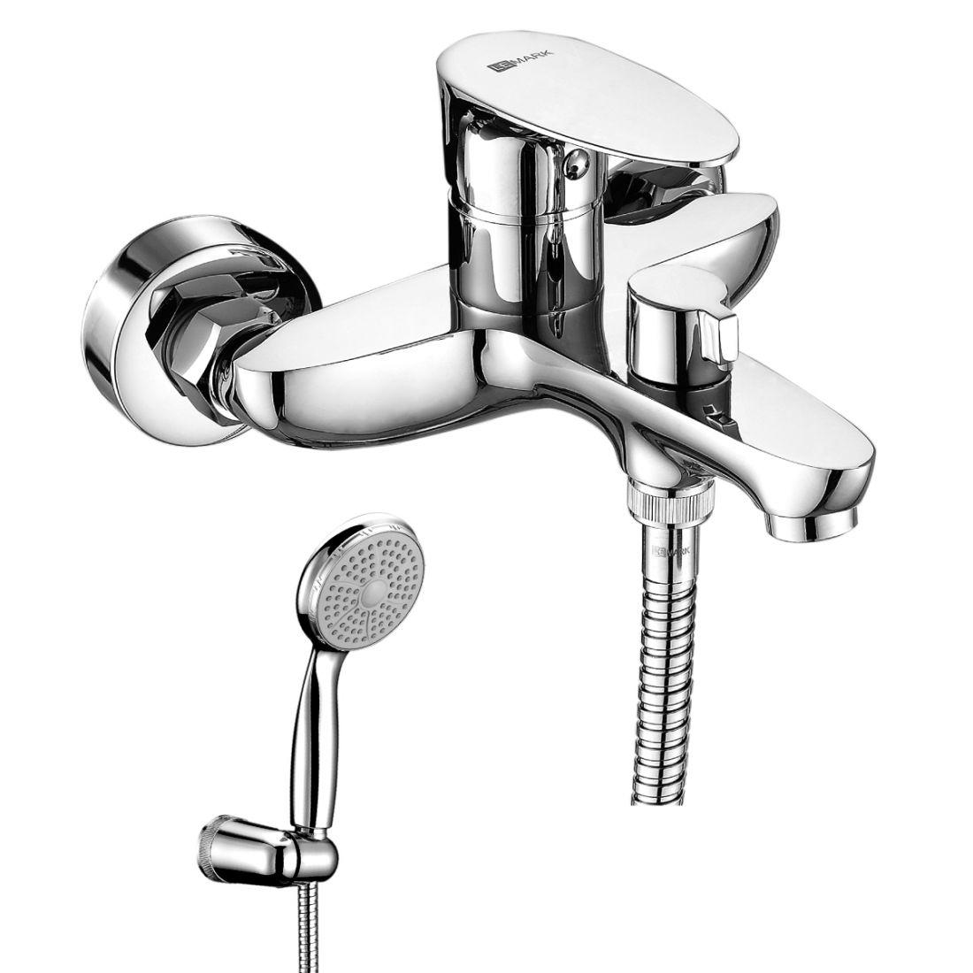 Смеситель для ванны Lemark Nero (LM0214C)