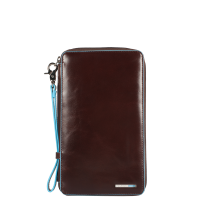 Многофункциональное портмоне Piquadro PP3246B2/MO вертикальное коричневое