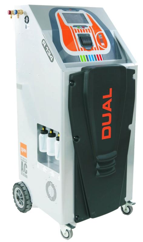 BREEZE DUAL TOUCH PRINTER установка для заправки кондиционеров двухгазовая HFO1234yf/R134а, автомат