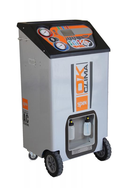 OK CLIMA ADVANCE BUS - установка для заправки кондиционеров, автомат