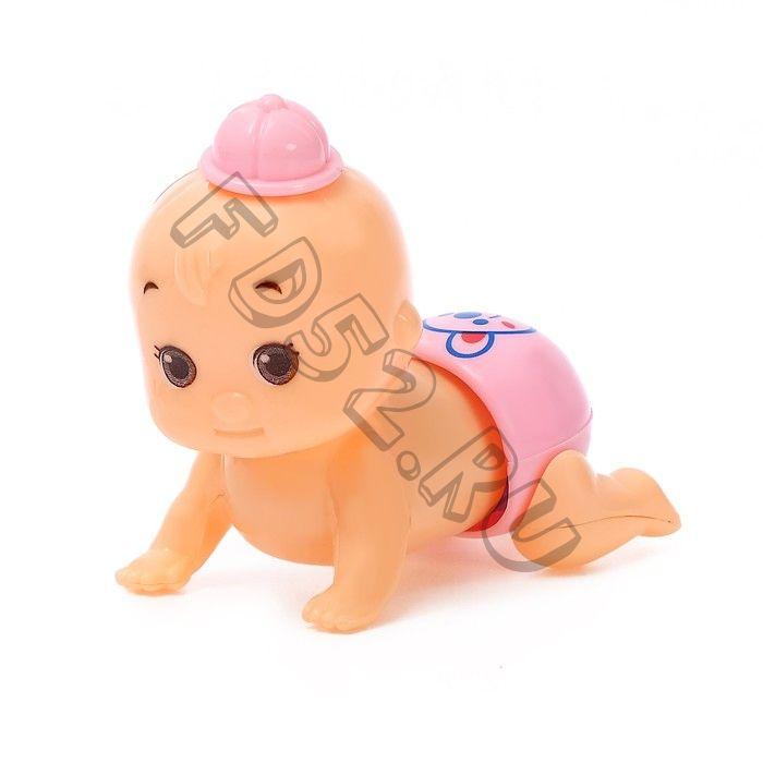 Заводная игрушка «Пупсик», МИКС