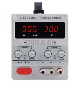 ТЕТРОН-3010Е Импульсный источник питания 30 вольт 10 ампер