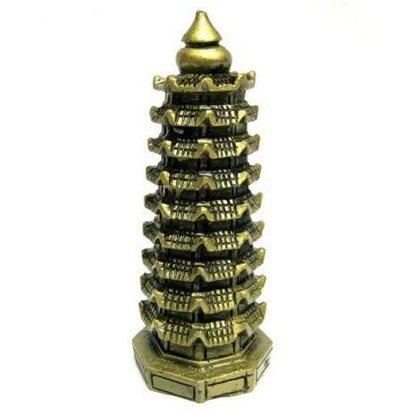 Пагода фигурка 13см полистоун
