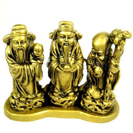 Три Старца фигурка, 12х9 см, полистоун