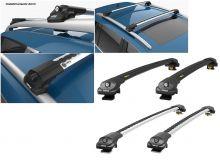 Багажник на рейлинги, CAN Turtle AIR, два цвета