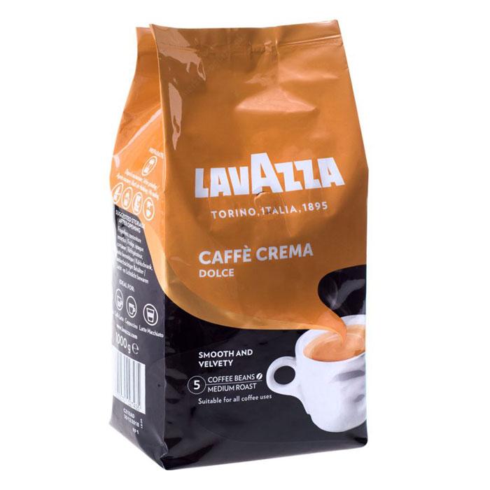 LavAzza CREMA dollce кофе в зерне 1 кг АКЦИЯ