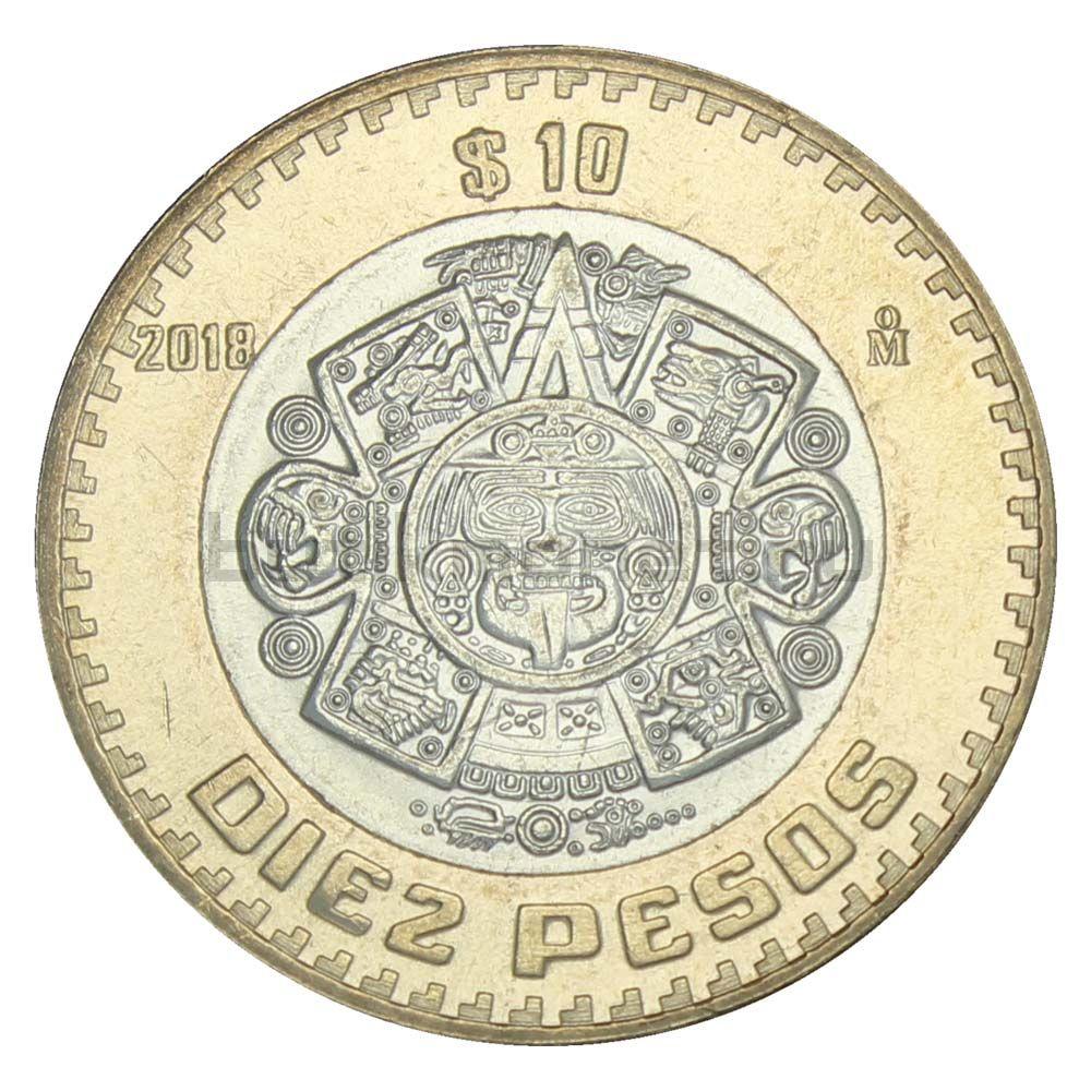 10 песо 2018 Мексика