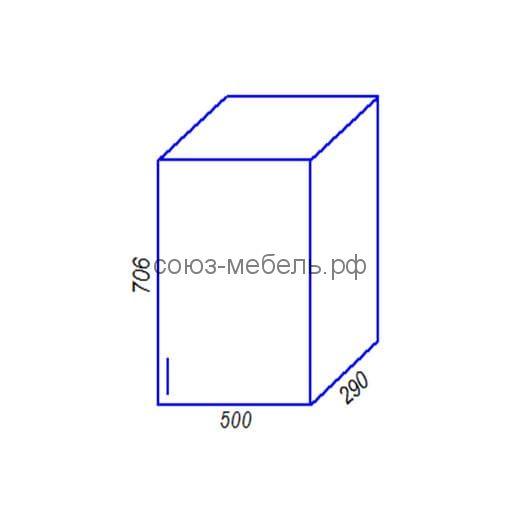 Шкаф B500 Кухня Агава