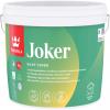 Краска для Стен и Потолков Tikkurila Joker 0.9л Акрилатная, Экологичная, Матовая, Белая / Тиккурила Джокер