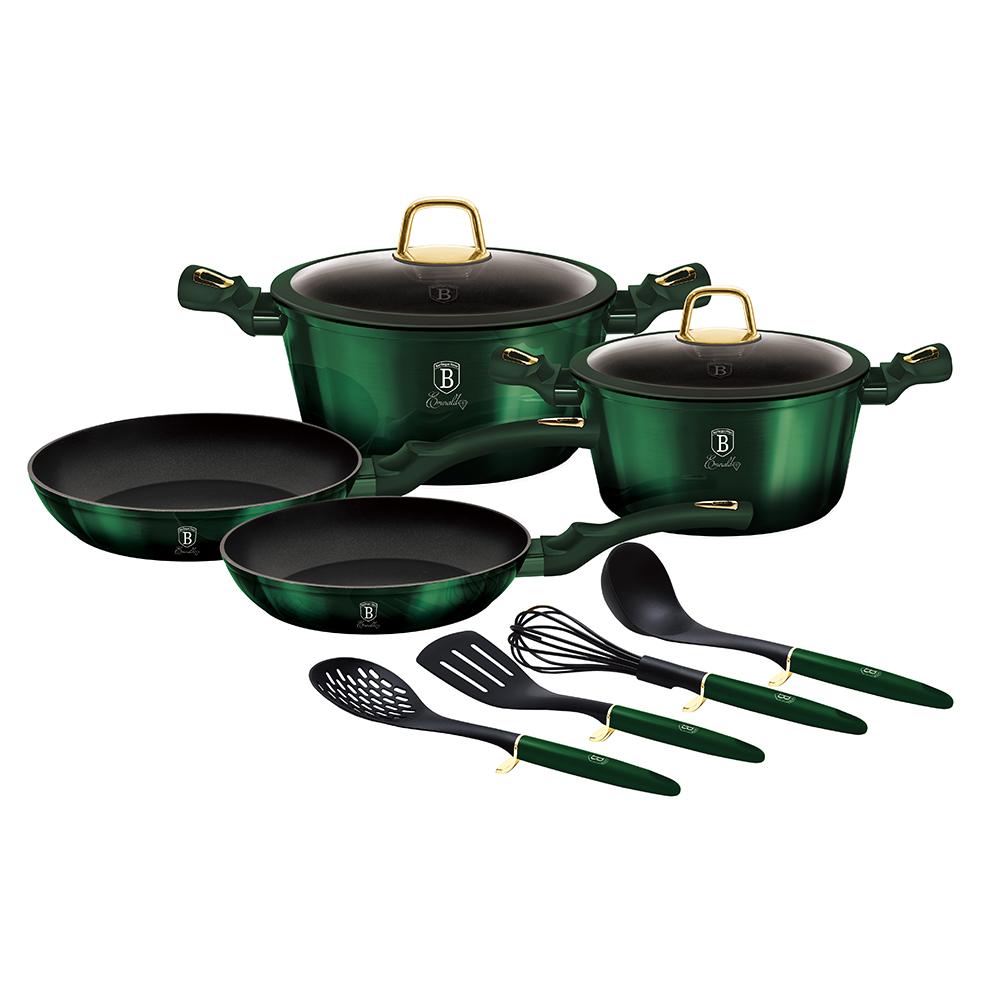 BH 7039 Emerald collection Набор посуды 10 пр. Berlinger Haus