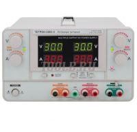 ТЕТРОН-3003-3 Линейный источник питания 3 канала 30 вольт 3 ампера фото