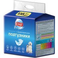 Cliny Подгузники для животных XXS (1-2.5кг), 12шт