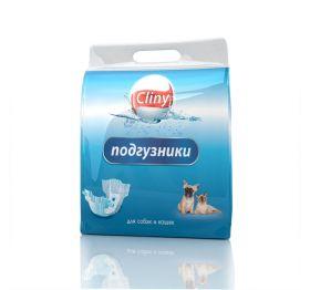 Cliny Подгузники для животных XXL (25-40кг), 6шт