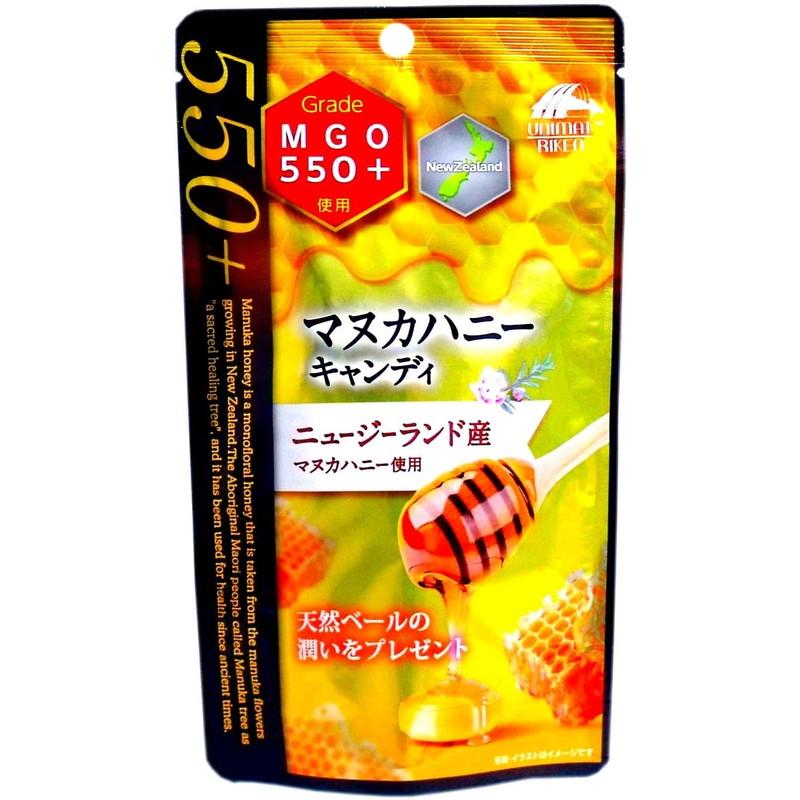 Леденцы для горла Unimat Riken Manuka Honey MGO550+