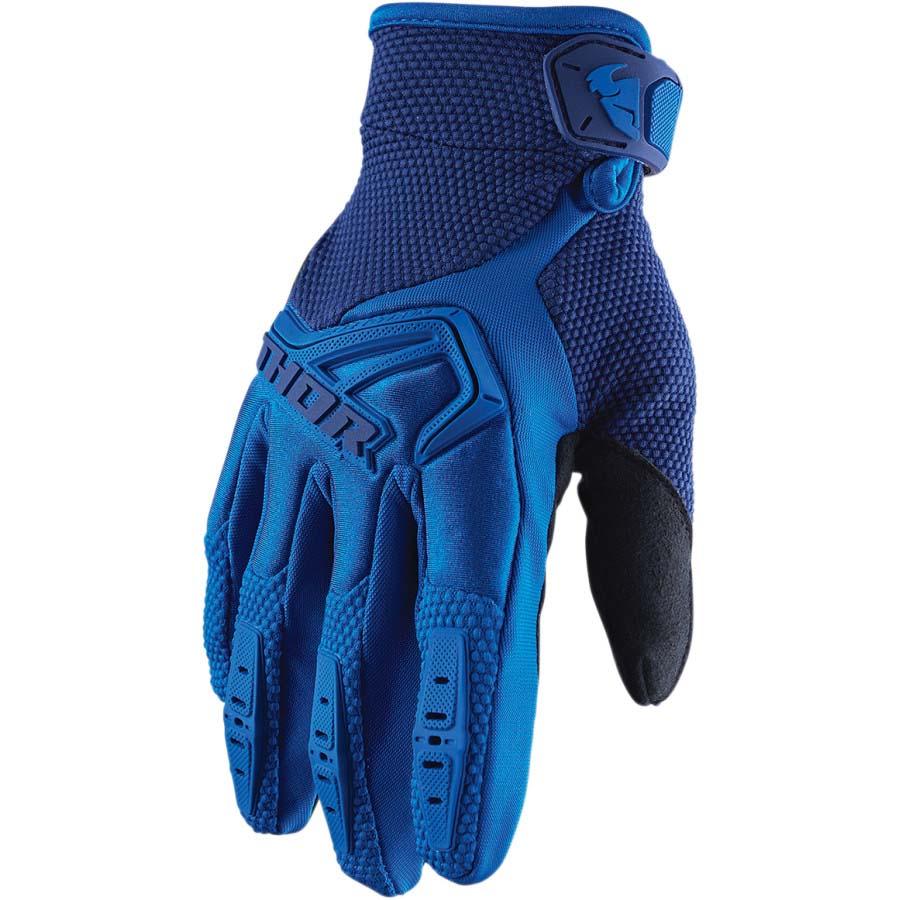 Thor Spectrum Blue перчатки для мотокросса и эндуро