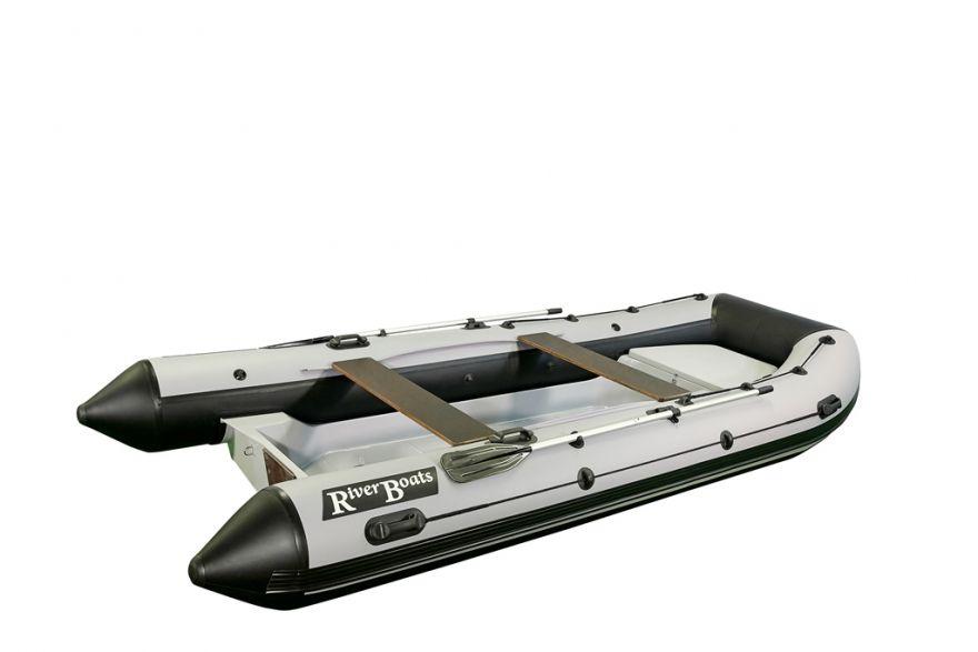 Лодка РИБ RiverBoats RB — 430 (Встроенный рундук)