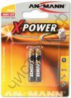 ANSMANN X-POWER AAAA ( LR61 ) 1510-0005 BL2