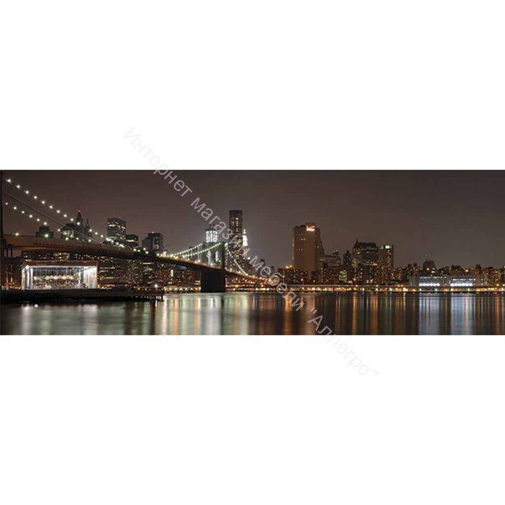 Стеновая панель с фотопечатью Нью-йорк 2800