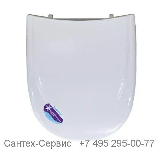 1.WH10.6.924 Сиденье Santek  Римини (дюропласт) с металлическим креплением (ПОД ЗАКАЗ)