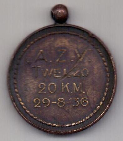 медаль 1936 Германия Олимпиада в Берлине