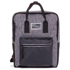 Рюкзак молодежный серый CITY STYLE 35х28х12 см