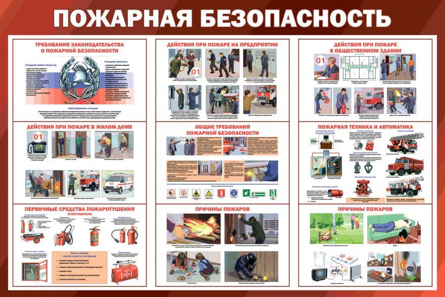 Информационный стенд Правила пожарной безопасности_3