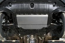 Защита картера и КПП, алюминий 4мм