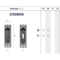 Ручка Enrico Cassina C50800 для раздвижных дверей схема