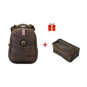 Рюкзак каркасный Hatber Ergonomic Classic 37 х 29 х 17, с термосумкой, TRAVEL