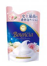 Bouncia Сливочное жидкое мыло для тела с цветочным ароматом, 400 мл (мягкая упаковка)