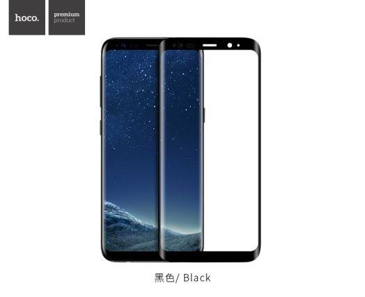 Изогнутое защитное стекло HOCO для Galaxy S8 Plus, черное