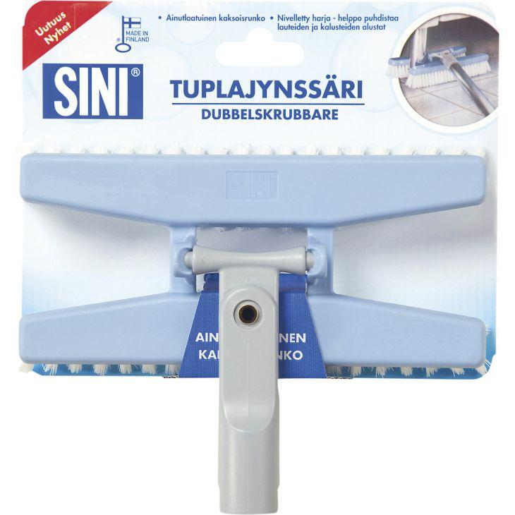SINI Tuplajynssäri Двойная Щетка для ванной 21 см арт.16280