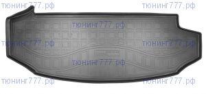 Коврик (поддон) в багажник, Unidec, полиуретан, на 7 мест. версию