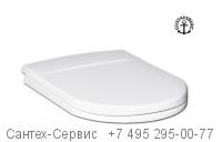 9M11S101 Сиденье с крышкой для унитаза Gustavsberg Logic с микролифтом