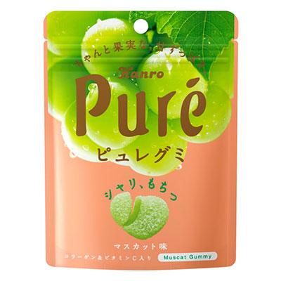 Мармелад Kanro Pure  со вкусом зелёного винограда