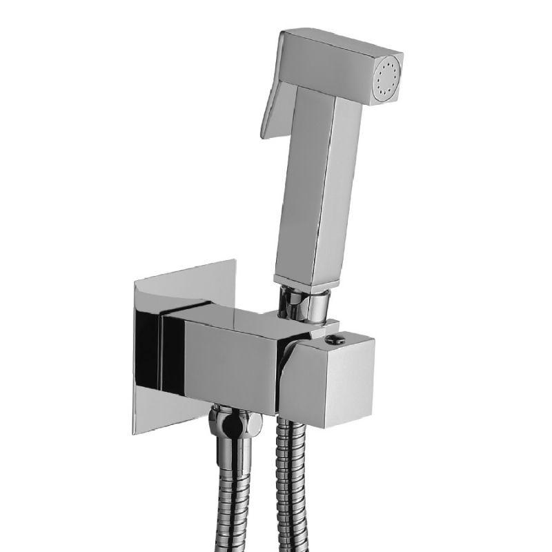 Гигиенический душ со смесителем Paffoni Tweet Square ZDUP112 ФОТО
